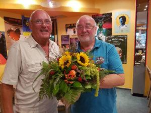 Am Montag den 05.09.2016 gratulierte der Vorstand der Lion´s Schwedt dem Intendanten der Uckermärkischen Bühnen Schwedt nachträglich zu seinem 65. Geburtstag